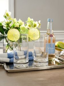 highball glasses from weston table
