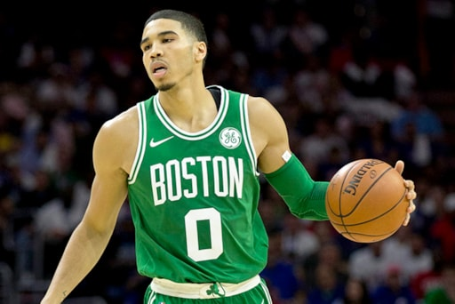 huge discount 0c92a df374 Jayson Tatum Has Seventh-Highest-Selling Jersey in Q2 2018
