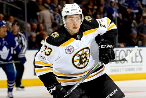 sale retailer 7d9e3 217ce Bruins defenseman Charlie McAvoy a full participant in ...