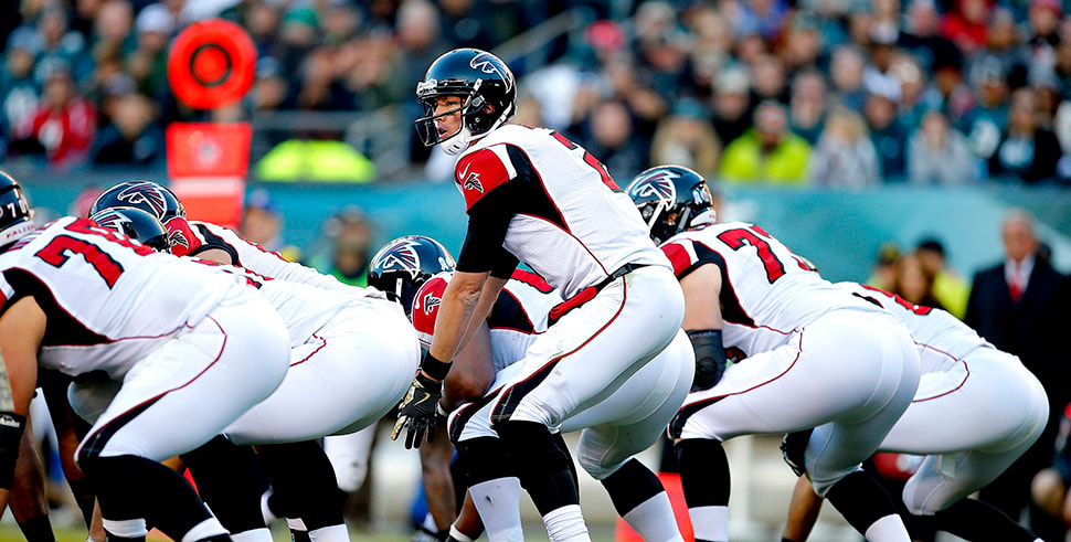 NFL Playoff Picks: Matt Ryan should give the Falcons a big-enough advantage over the Eagles. (Photo by Rich Schultz/Getty Images)