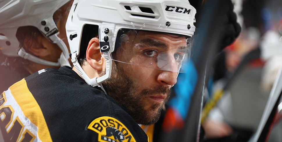 Patrice Bergeron (Photo by Bruce Bennett/Getty Images)