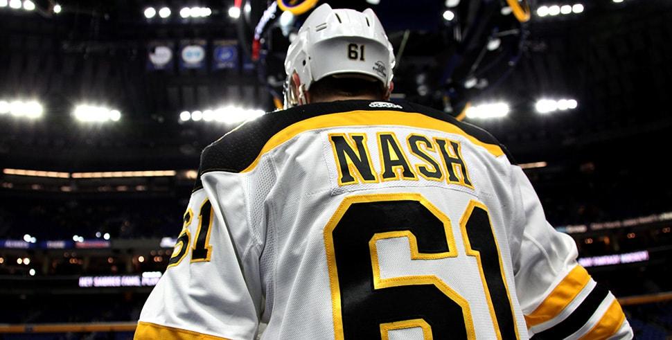Rick Nash (Photo credit: Mike Penhollow/Boston Bruins)