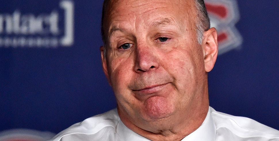 Head coach of the Montreal Canadiens Claude Julien (Photo by Minas Panagiotakis/Getty Images)