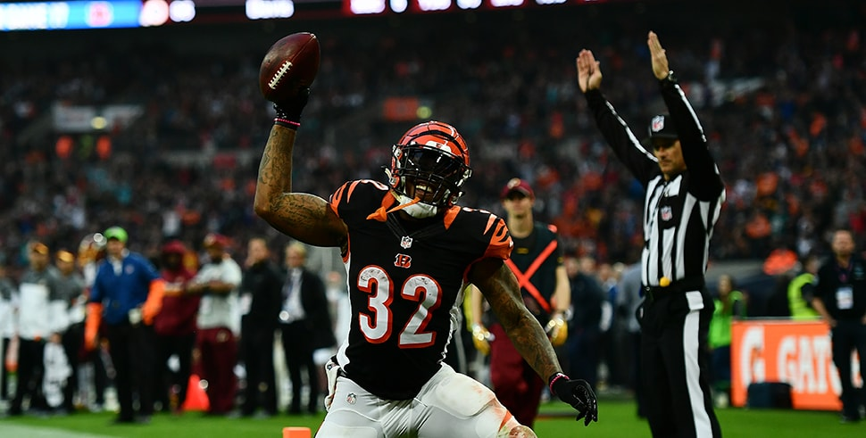 Jeremy Hill (Photo by Dan Mullan/Getty Images)