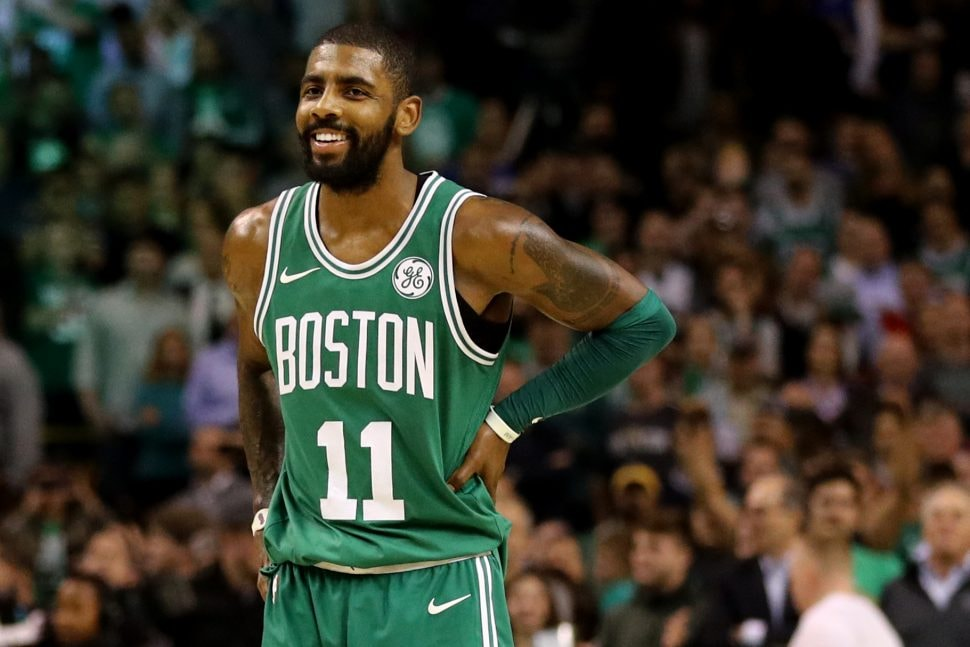 Kyrie plans to re-sign with Celtics next summer