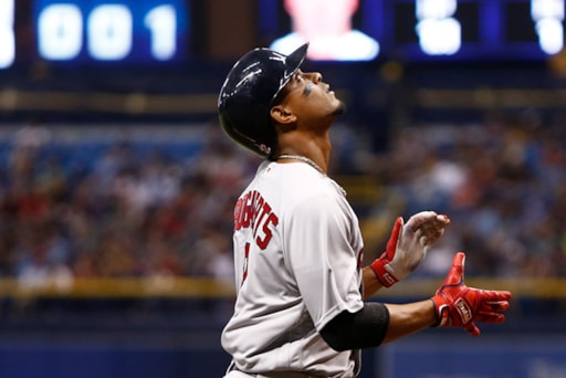 Behind The Seams  What s Changed At The Plate For Xander Bogaerts  80024376b
