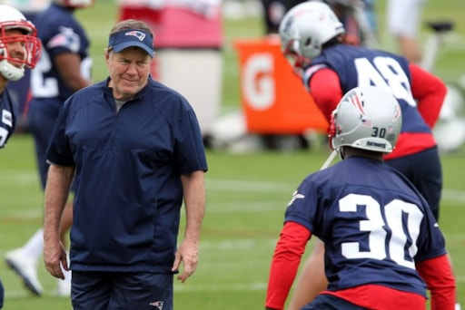 5 Things to Consider (Besides Brady   Gronk) at Patriots Mandatory Minicamp b9de5fd08