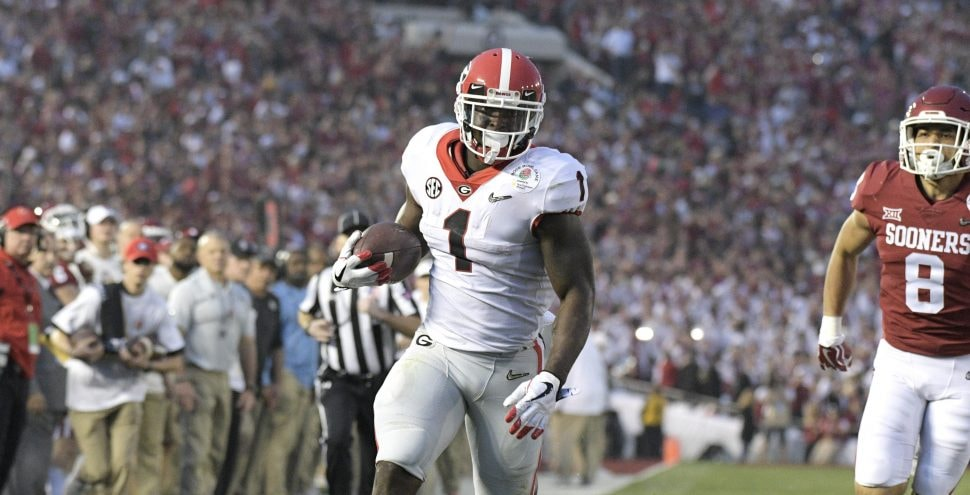 Sony Michel Rose Bowl Highlights Should Get You Excited