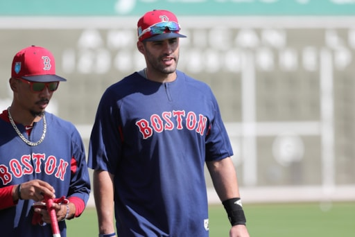 Behind The Seams  How Well Do Mookie Betts and J.D. Martinez Complement  Each Other  b89031787c5