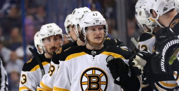 Torey Krug throws some incredible Twitter-shade at Kyrie Irving