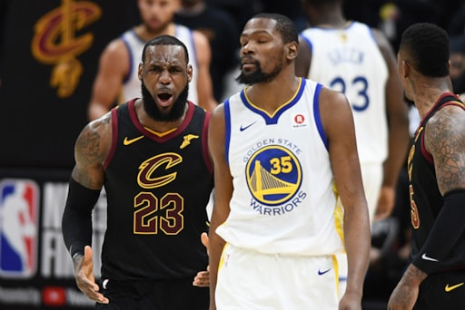 competitive price b8e35 fbab0 LeBron James Even Meeting with the Warriors is an Abomination