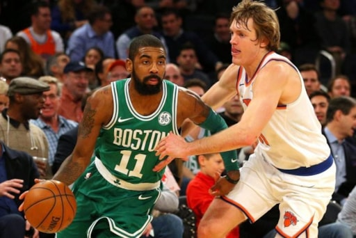 new concept 3e92a f73b7 Celtics 'Scared' Of Kyrie Irving Leaving After 2018-19 Season