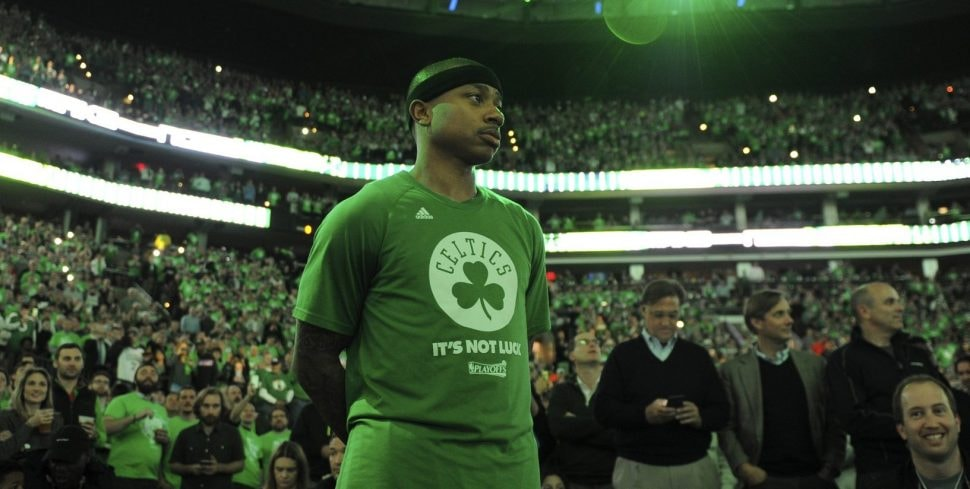 Isaiah Thomas lasted just 2 1/2 years in Boston, but in that time he authored some amazing performances that should stick with Celtics fans forever. (Bob DeChiara-USA TODAY Sports)