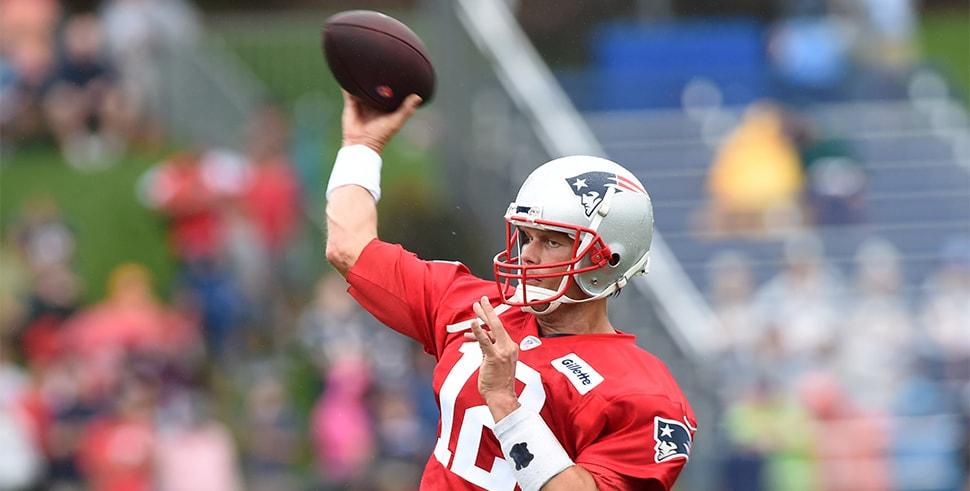 Tom Brady, Josh Gordon get to work at Patriots practice