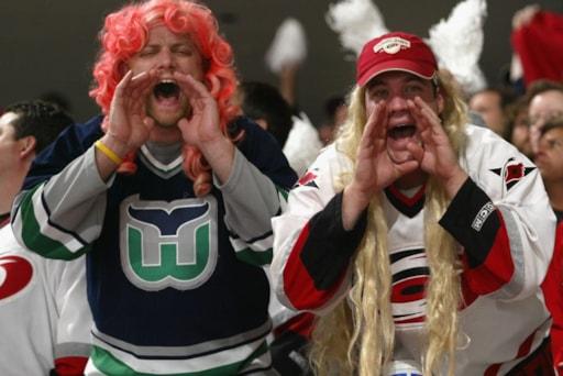 dc55ec31920 Carolina Hurricanes will wear Hartford Whalers jerseys vs. Boston Bruins in  2018-19
