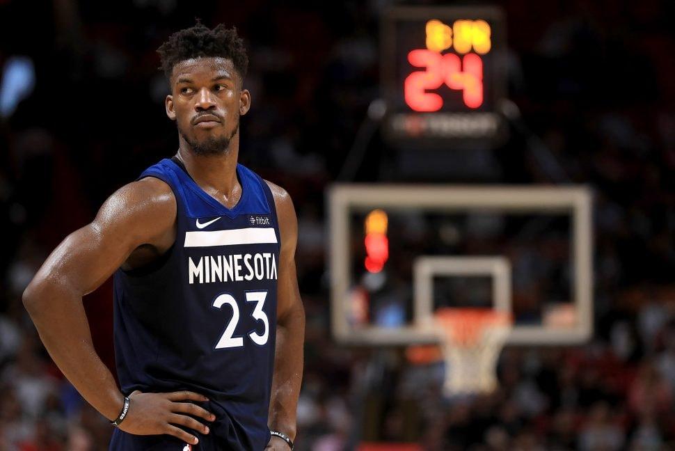 7c06aed271 Minnesota Timberwolves v Miami Heat