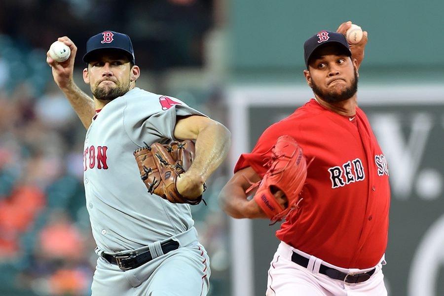 L-R: Nathan Eovaldi, Eduardo Rodriguez (Evan Habeeb/Bob DeChiara/USA Today Sports)
