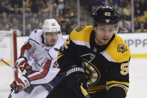 832bffee641 Bruins Announce Game Roster vs. Capitals