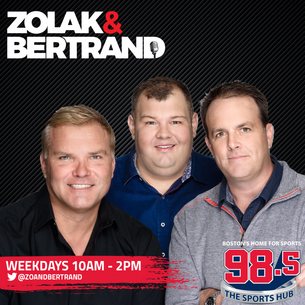 Zolak & Bertrand: Celtics Championship Chances, Brad Stevens Calls In, Brady Latest (Hour 3)