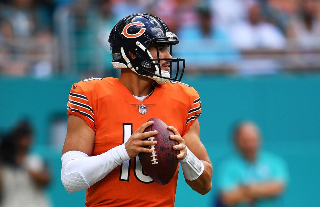 Patriots-Bears Could Simply Come Down To Mitchell Trubisky