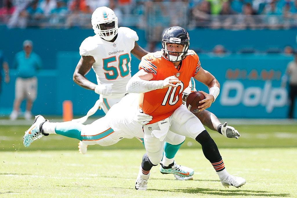 Mitchell Trubisky - Chicago Bears v Miami Dolphins b098aa17b