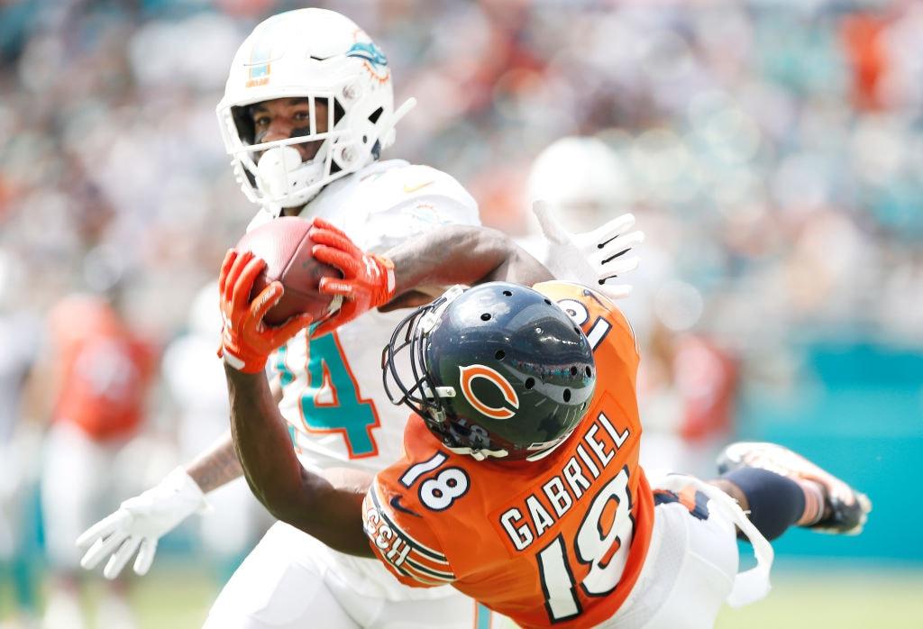 Taylor Gabriel - Chicago Bears v Miami Dolphins 02d739f2c