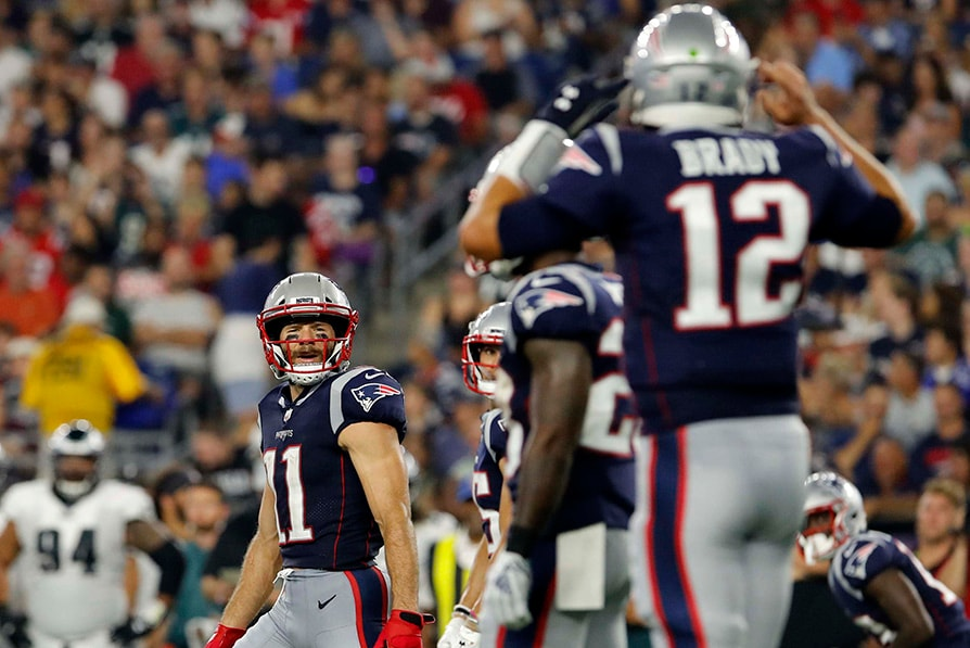 Patriots QB Tom Brady raves about Julian Edelman's condition