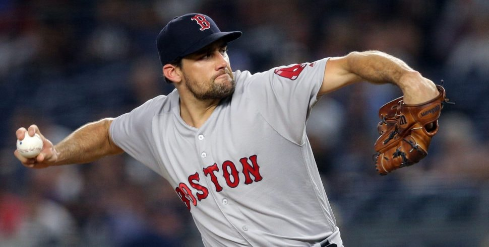 Absent Nathan Eovaldi gets biggest cheers at Red Sox video premiere
