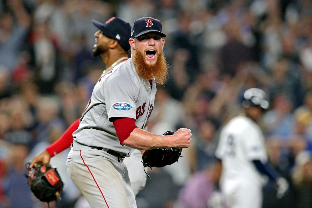 Report: No 'Widespread Interest' in Kimbrel, Return to Red Sox Possible