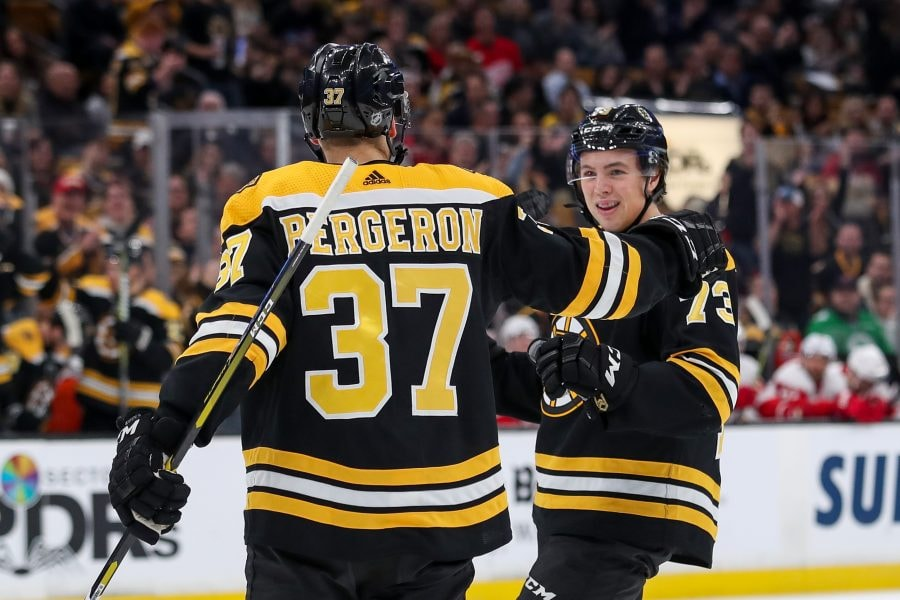 The Bruins are trying to rebuild and reshape their defense on the fly while also win a Stanley Cup, which can be difficult to accomplish. (Paul Rutherford-USA TODAY Sports)