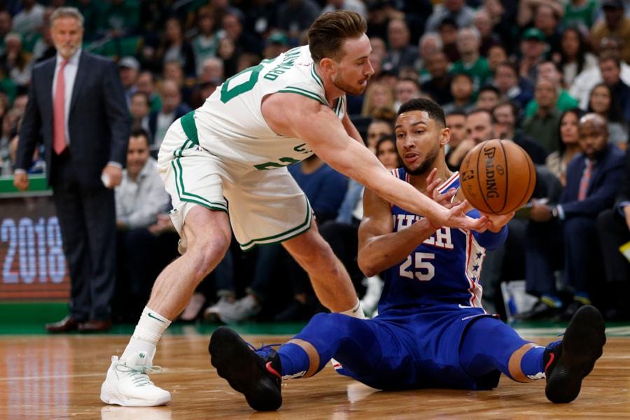 18b2f88d6b3e Boston Celtics vs Philadelphia 76ers (October 16