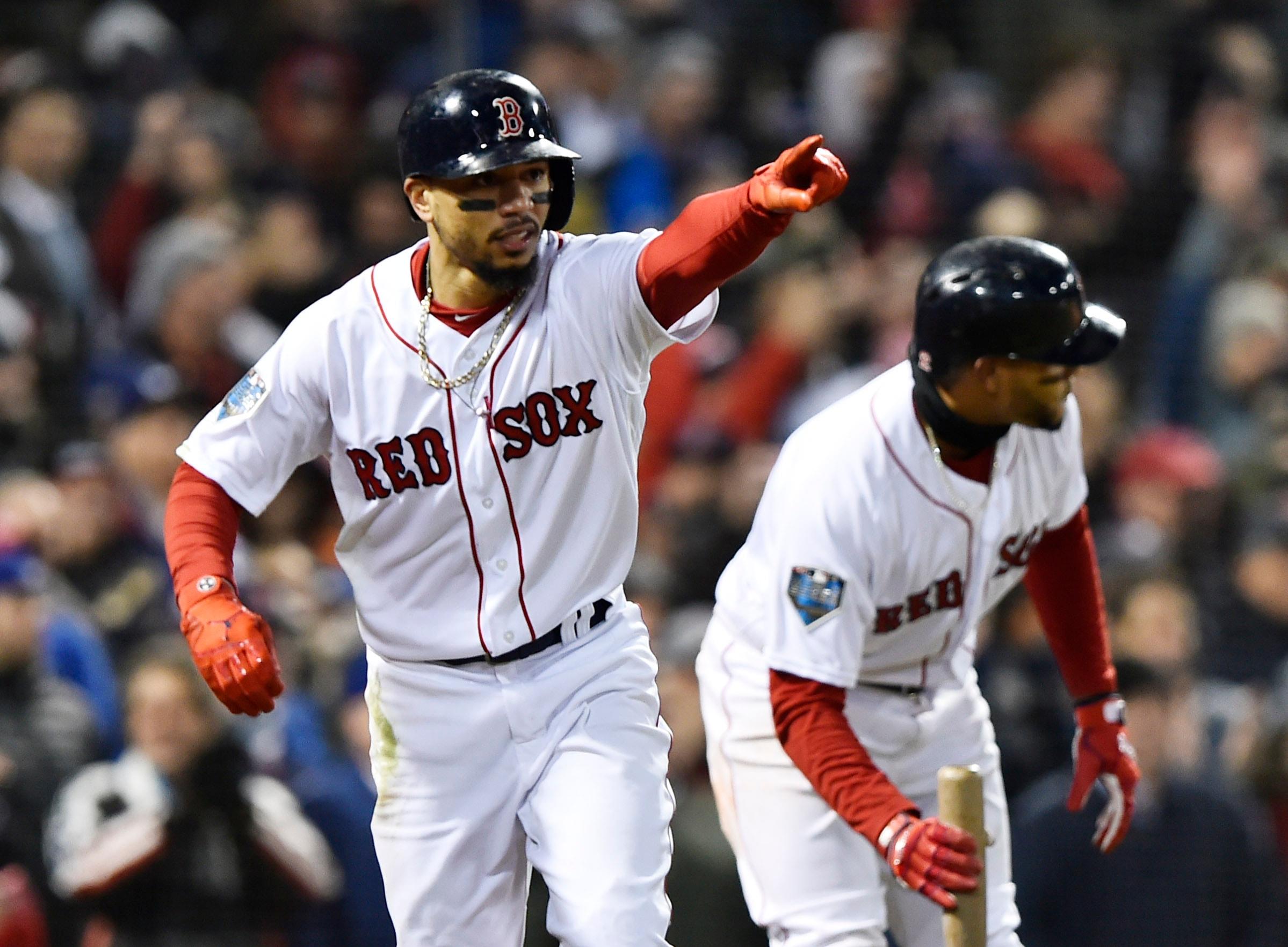 MLB Rumors: Red Sox, Dodgers have begun Mookie Betts trade talks