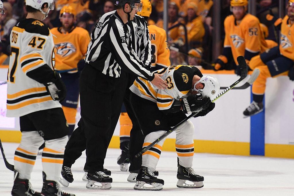 Bruins shut out by NHL-best Predators 1-0 in Nashville