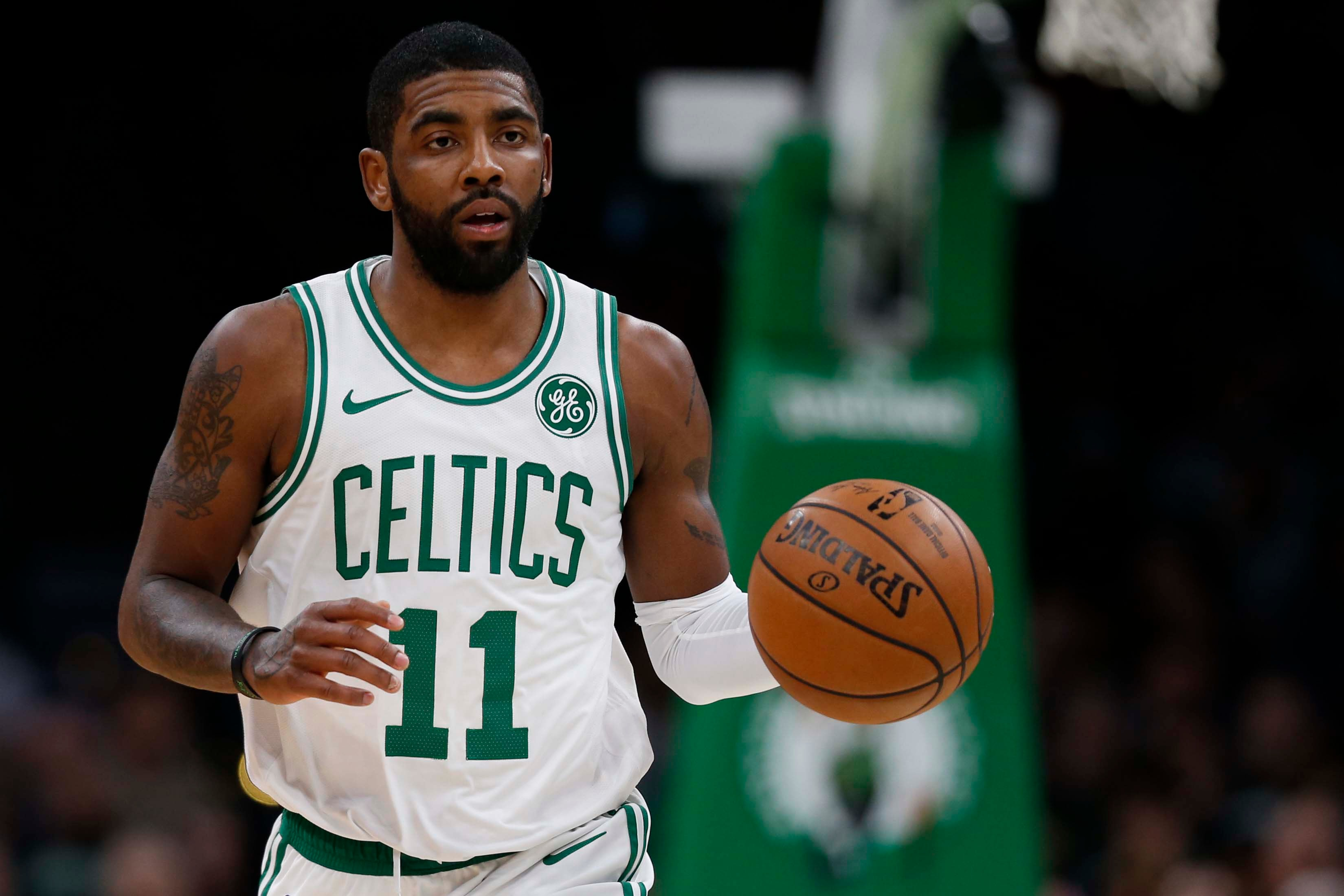 8316b5f8922 Celtics  Kyrie Irving day-to-day with strained right knee