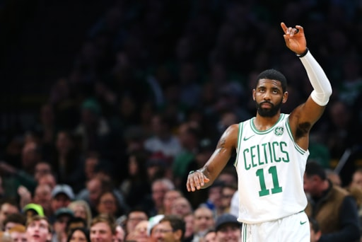 low priced 3fc93 16361 Sports Hub 2018 Celtics Player of the Year  Kyrie Irving