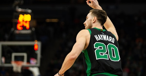 Gordon Hayward expected to return to lineup for Celtics vs. Cavaliers