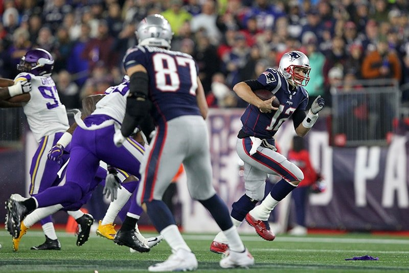 Patriots fired up over Belichicks verbal exchange with Adam Thielen