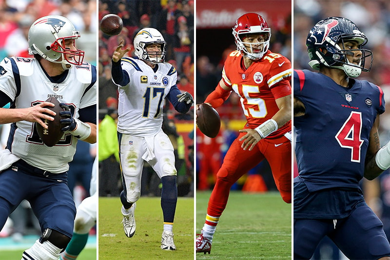Tom Brady And Philip Rivers And Patrick Mahomes And Deshaun