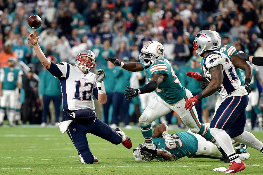 Dolphins snatch win over Patriots with incredible last-gasp touchdown