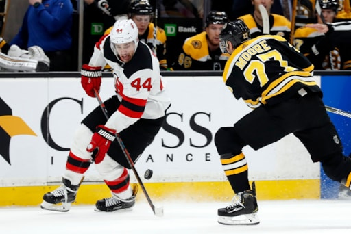 bf2fe020f Bruins drop sloppy game to Devils