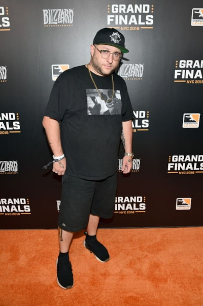 NEW YORK, NY - JULY 27:  Statik Selektah attends Overwatch League Grand Finals - Day 1 at Barclays Center on July 27, 2018 in New York City.  (Photo by Bryan Bedder/Getty Images for Blizzard Entertainment )