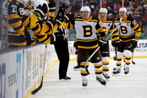 hot sale online 918c1 756e5 Bruins will wear Winter Classic jerseys tonight vs. Canadiens