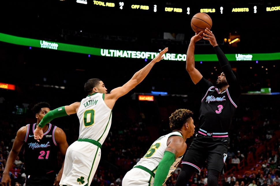 Thursday's National Basketball Association  roundup: Heat shooting sinks Celtics