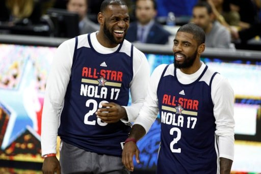 15dec6e2e5e6 Report  Kyrie Irving  genuinely interested  in reunion with LeBron James