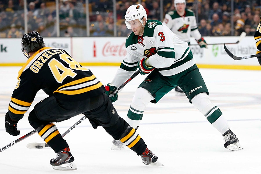 Bruins acquire Charlie Coyle from Wild