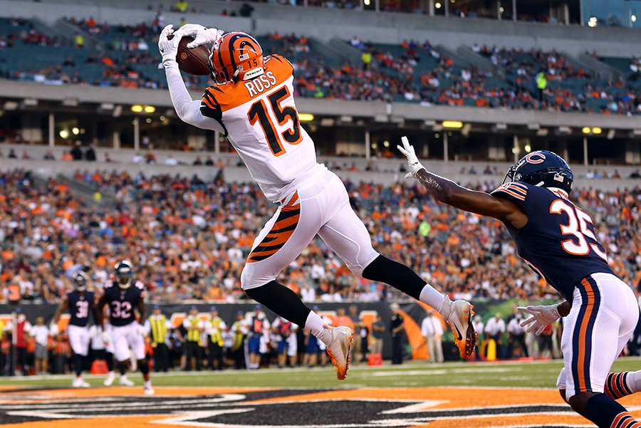 Bengals shopping receiver John Ross