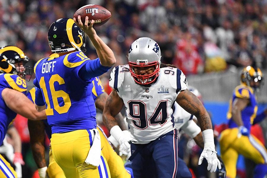 Adrian Clayborn - NFL: Super Bowl LIII-New England Patriots vs Los ...