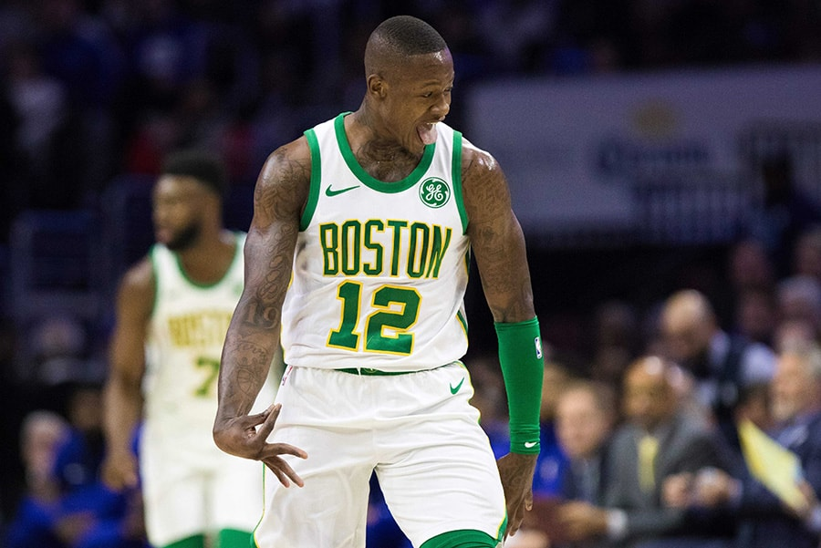 size 40 99036 0c230 Terry Rozier surprised Sixers didn't drop confetti after win ...