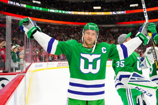 Hurricanes breaking out Whalers uniforms tonight in Boston