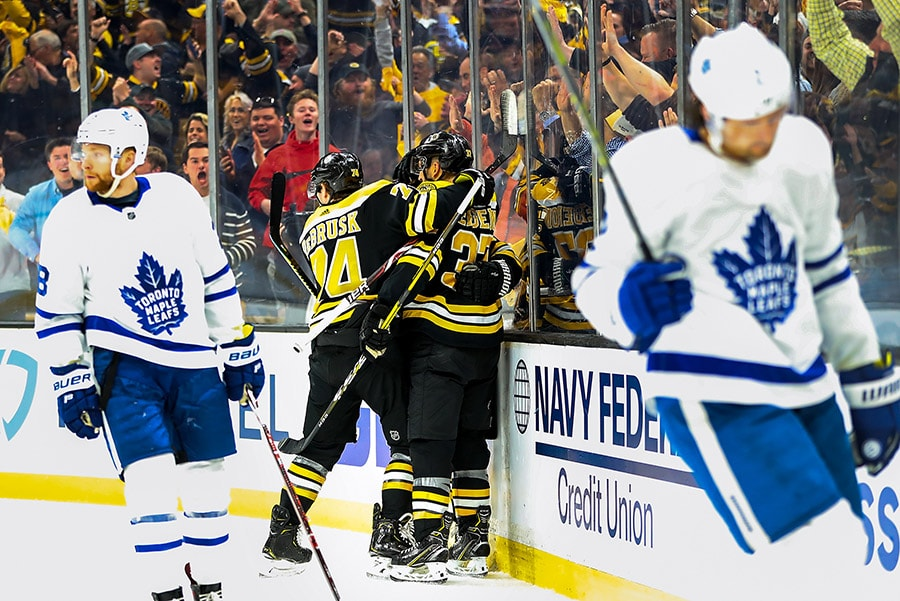 Stanley Cup Playoffs Start Time Announced For Bruins Leafs Game 5